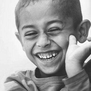 Ser feliz é algo muito simples