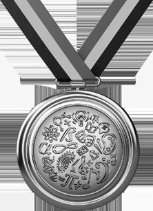 Medalha Olimpíada de Matemática